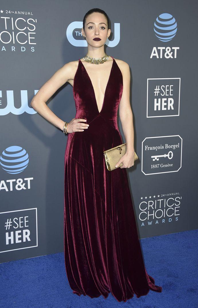 Emmy Rossum Critics Choice Awards 2019