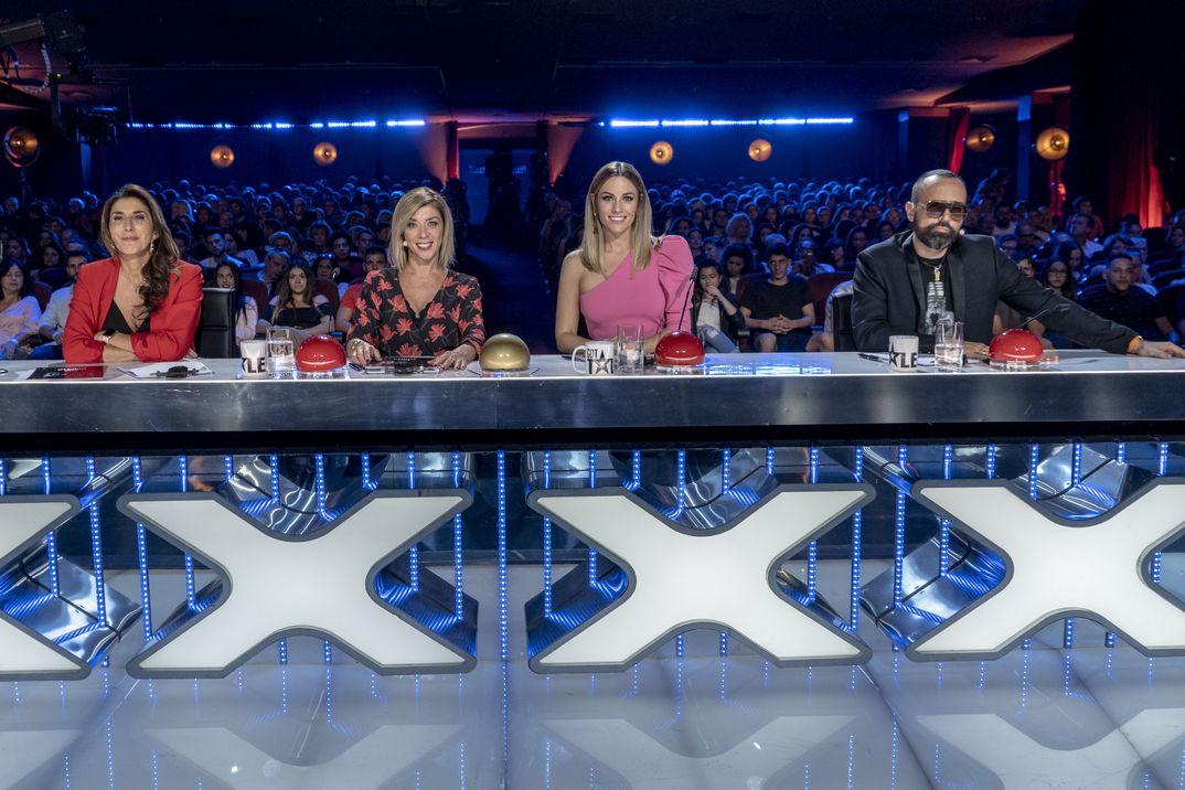 Got Talent España T4- Jurado: Paz Padilla, Eva Isanta, Edurne y Risto Mejide - Mediaset