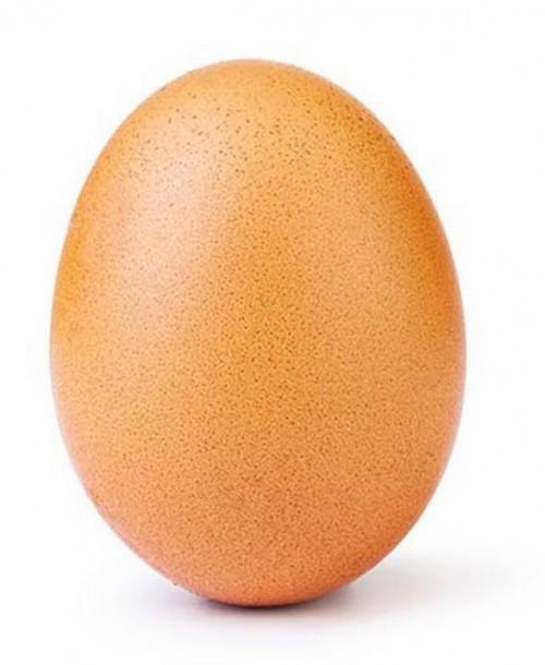 Un huevo destrona a Kylie Jenner como la foto con más «me gusta» de Instagram