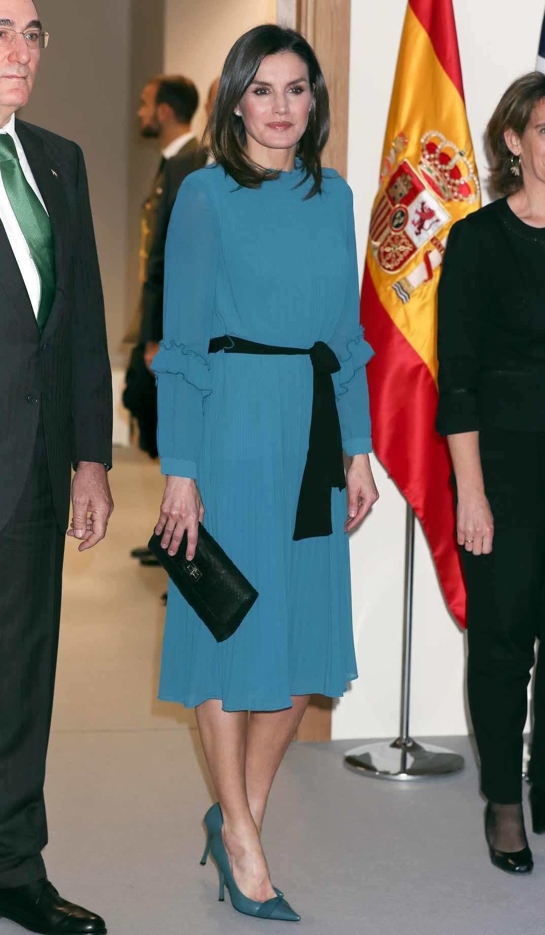 Reina Letizia Vestido - Mono Zara