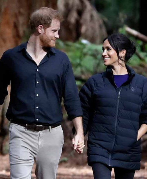 El video de Harry colocándole el pelo a Meghan Markle que se ha hecho viral