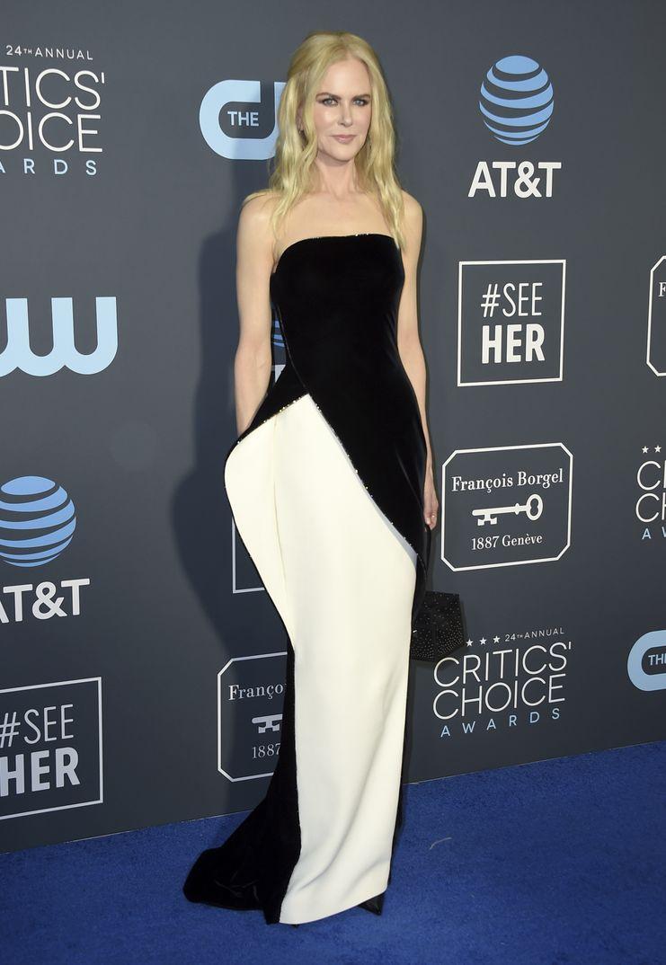 Nicole Kidman Critics Choice Awards 2019