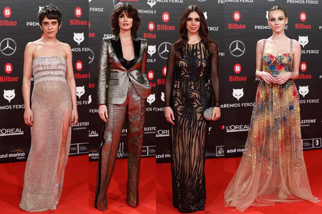 ¿Cual fue el mejor look de los Premios Feroz?