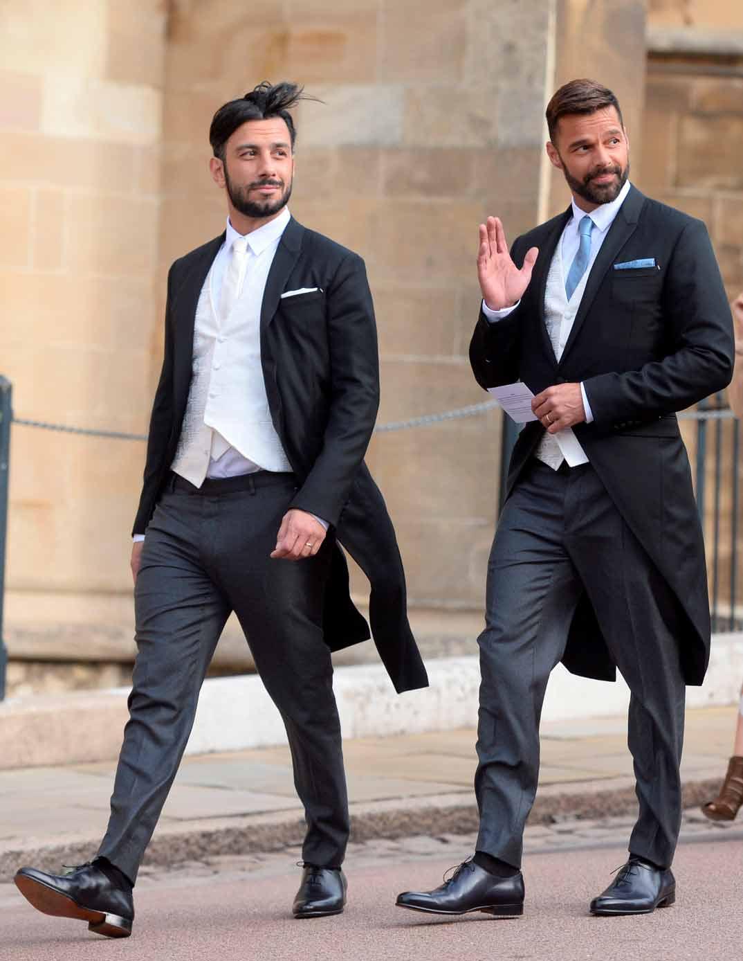 Ricky Martin y Jwan Yosef
