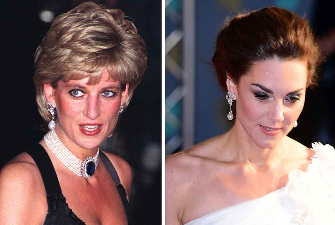 Lady Di y Kate Middleton