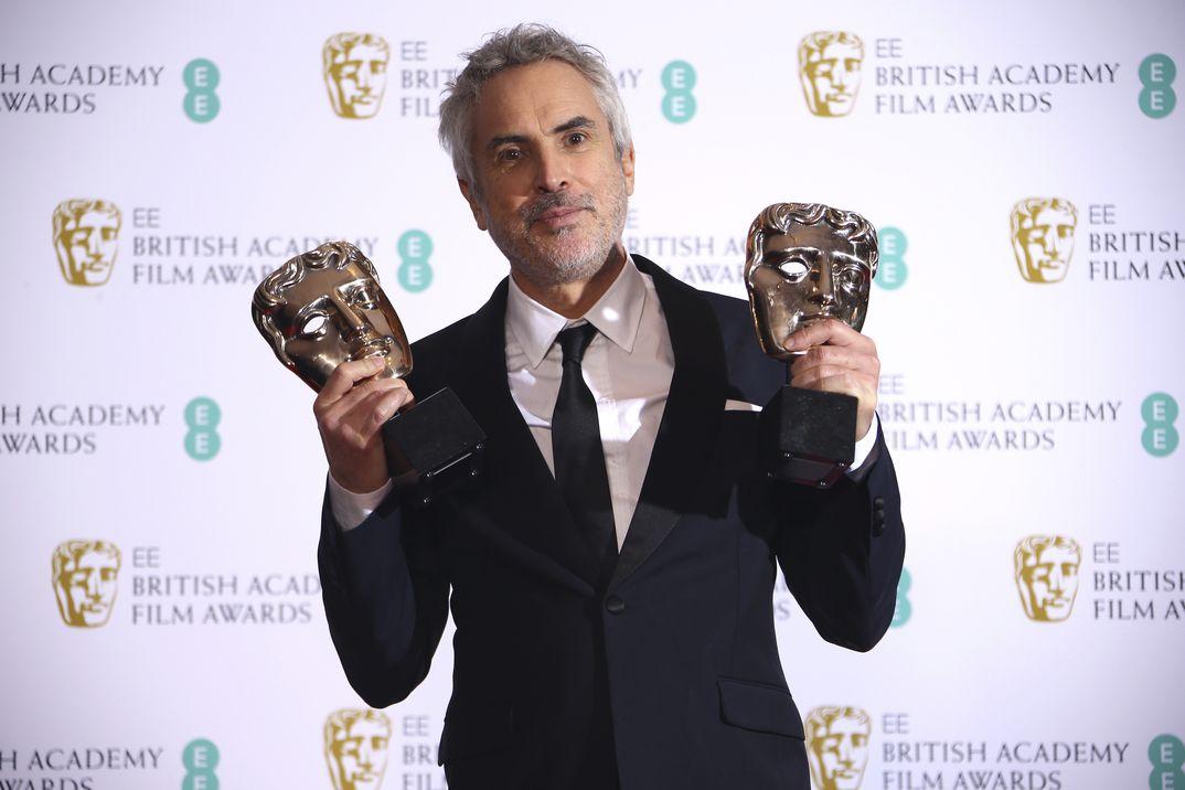Alfonso Cuarón - Roma - Premios Bafta 2019 - Mejor Película y Mejor Director