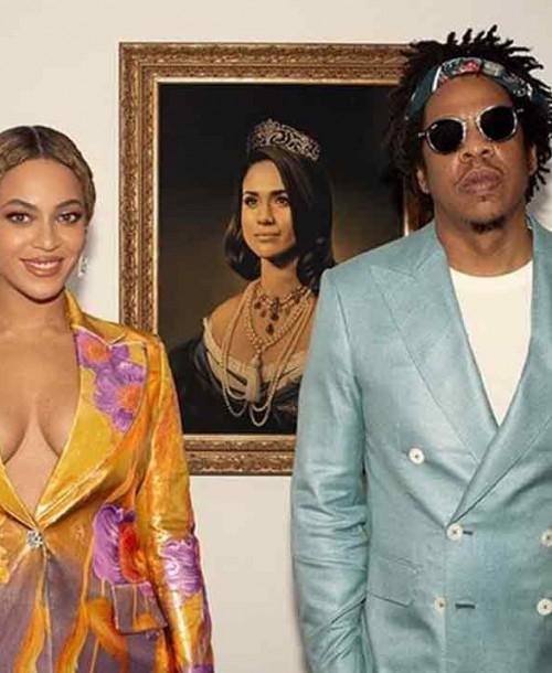 Beyoncé y Jay Z celebran su Premio Brit con un homenaje a Meghan Markle