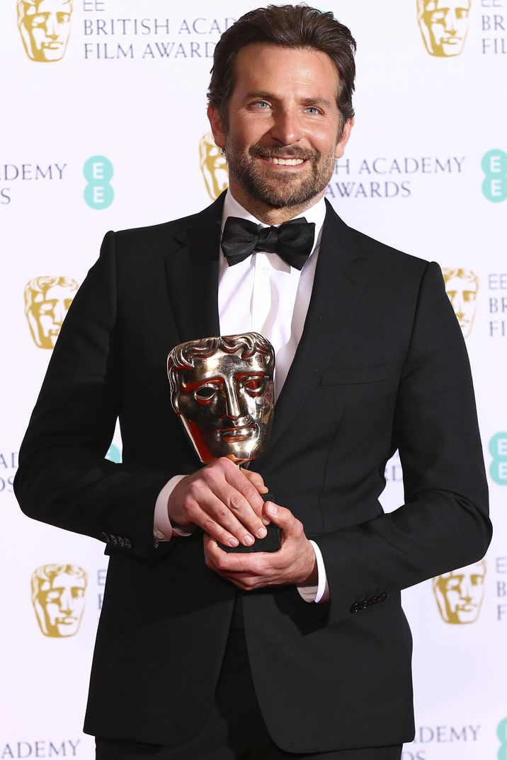 """Bradley Cooper - Mejor Música original por """"Ha nacido una estrella"""" - Premios Bafta 2019"""