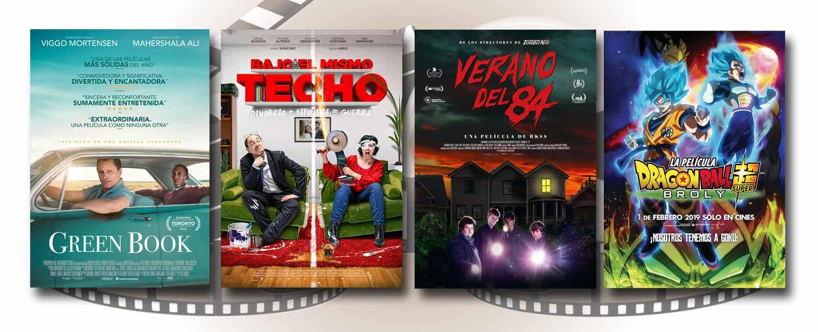 Estrenos de Cine de la Semana… 1 de Febrero 2019