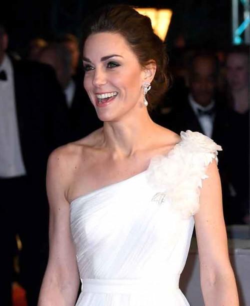Kate Middleton se viste de novia en los Premios Bafta 2019