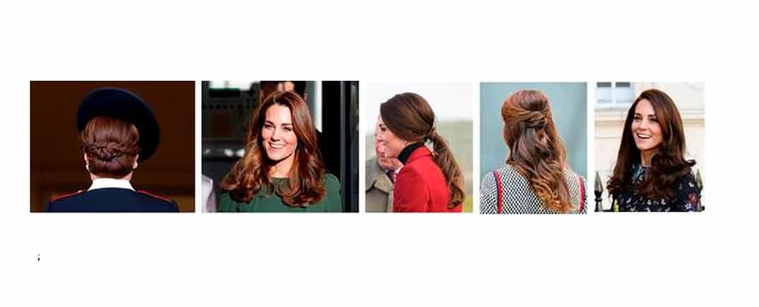 Kate Middleton peinados