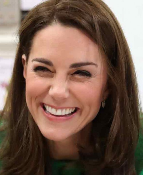 El alegre look sesentero de Kate Middleton