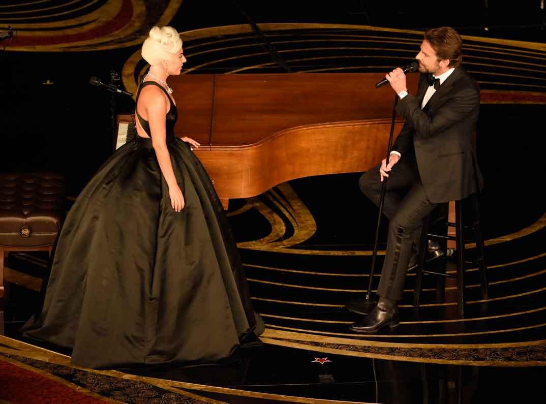 Lady Gaga y Bradley Cooper - Premios Oscars 2019