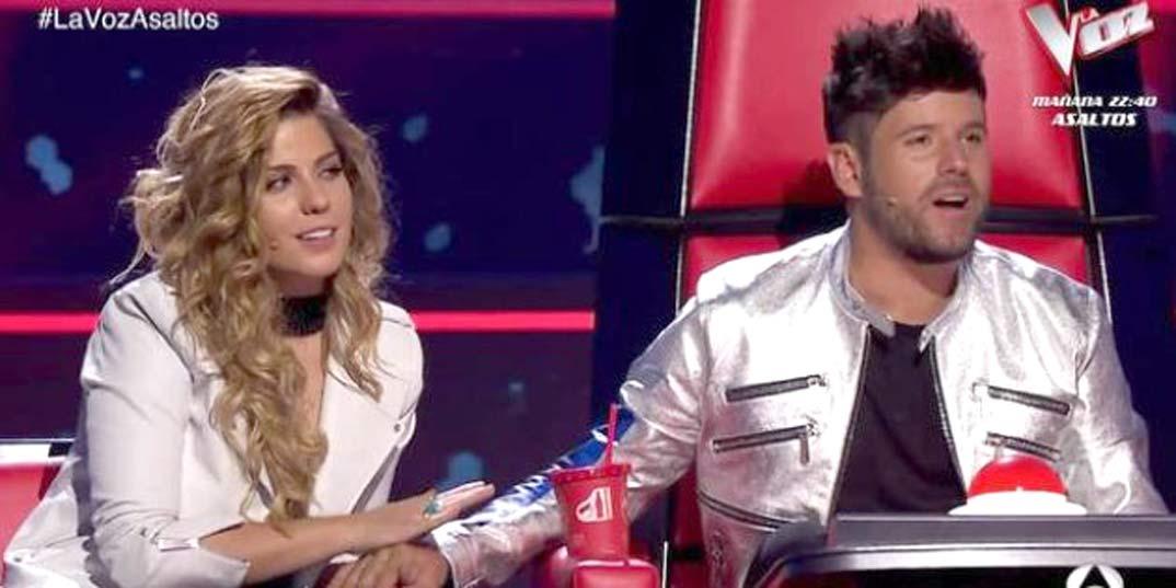 """Pablo López y Miriam Rodríguez en """"La Voz"""""""