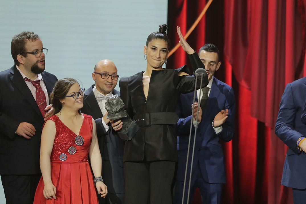 """MEJOR ACTRIZ DE REPARTO: Carolina Yuste por """"Carmen y Lola"""" - Premios Goya 2019"""