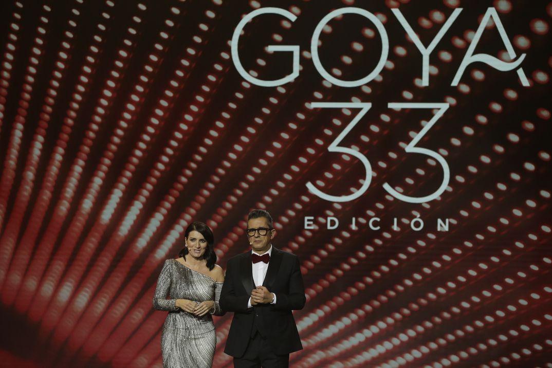 Silvia Abril y Andrés Buenafuente - Premios Goya 2019