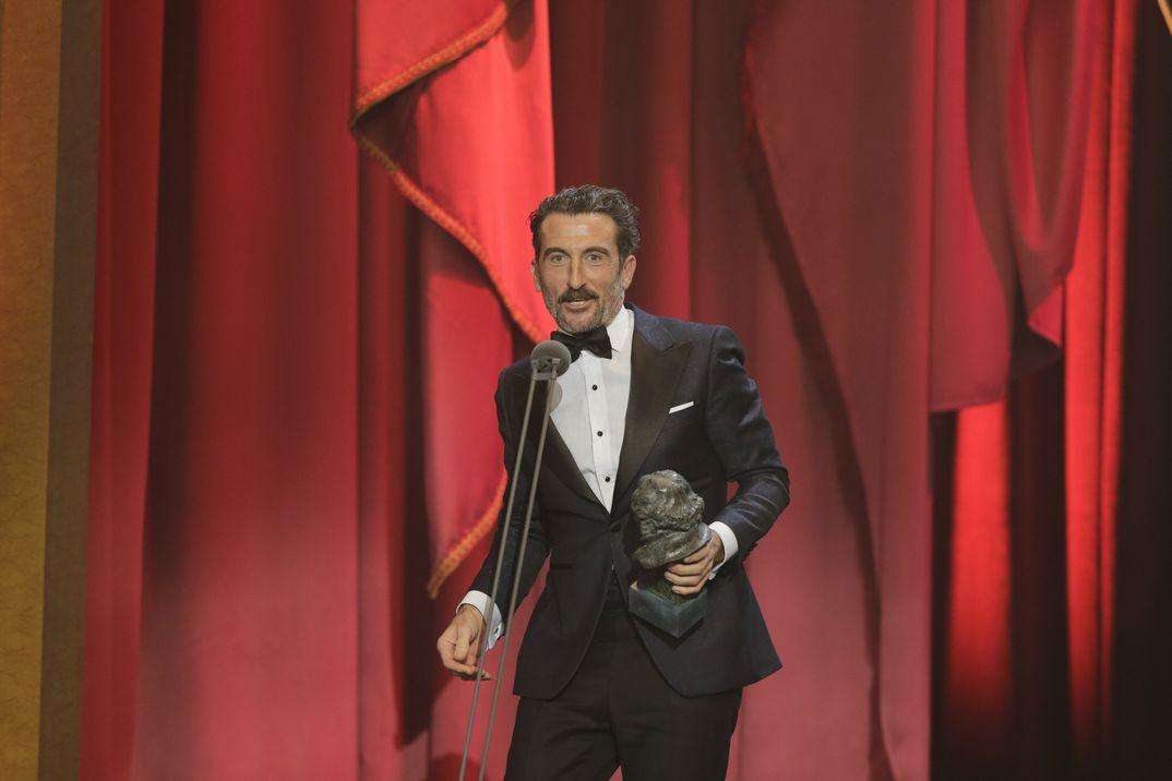 """MEJOR ACTOR DE REPARTO: Luis Zahera, por """"El reino"""" - Premios Goya 2019"""