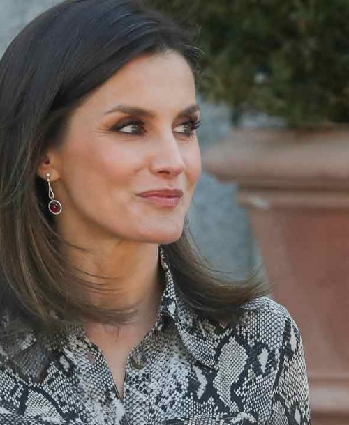 Copia el look animal print de la reina Letizia