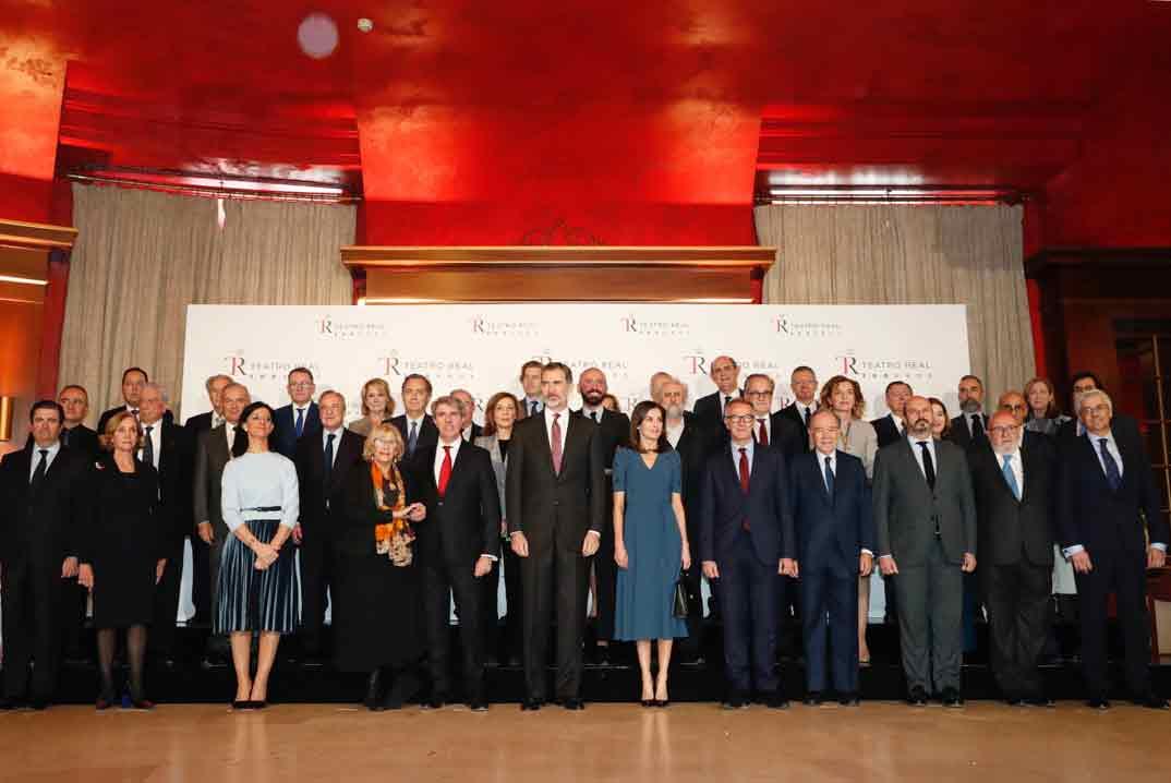Reunión del Patronato de la Fundación Teatro Real © Casa S.M. El Rey