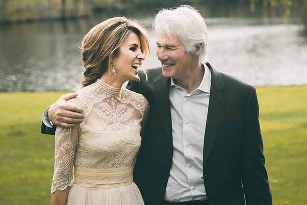Richard Gere y Alejandra Silva ¡ya son papás!