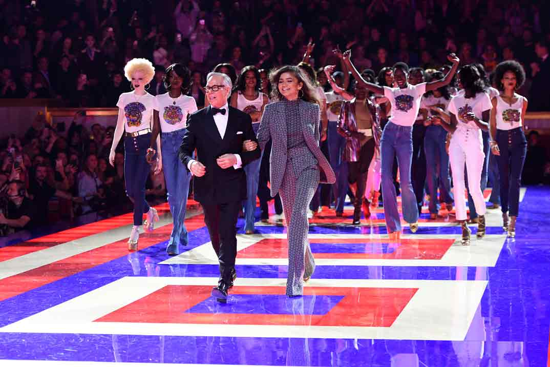 Tommy Hilfiger y Zendaya conquistan París