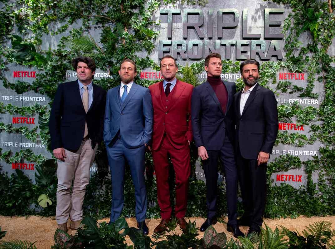 Triple Frontera - J.C. Chandor, Charlie Hunnam, Ben Affleck, Garrett Hedlund, Oscar Isaac