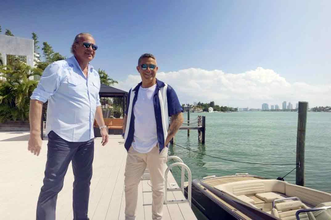 Bertín Osborne y Alejandro Sanz - Mi casa es la tuya