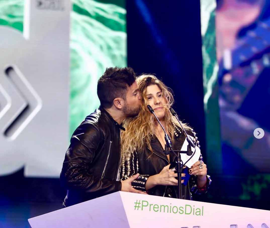 Pablo López y Miriam Rodríguez - Premios Cadena Dial 2019 © Redes Sociales