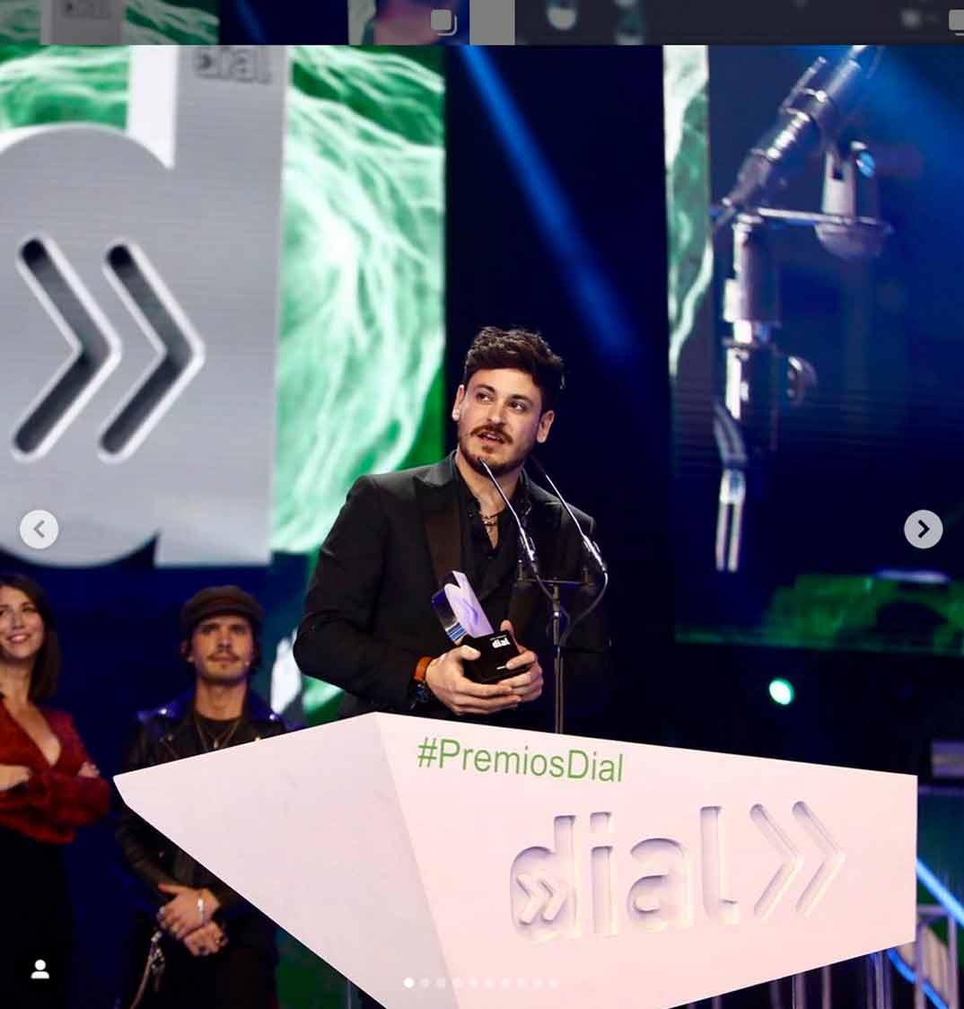 Luis Cepeda - Premios Cadena Dial 2019 © Redes Sociales