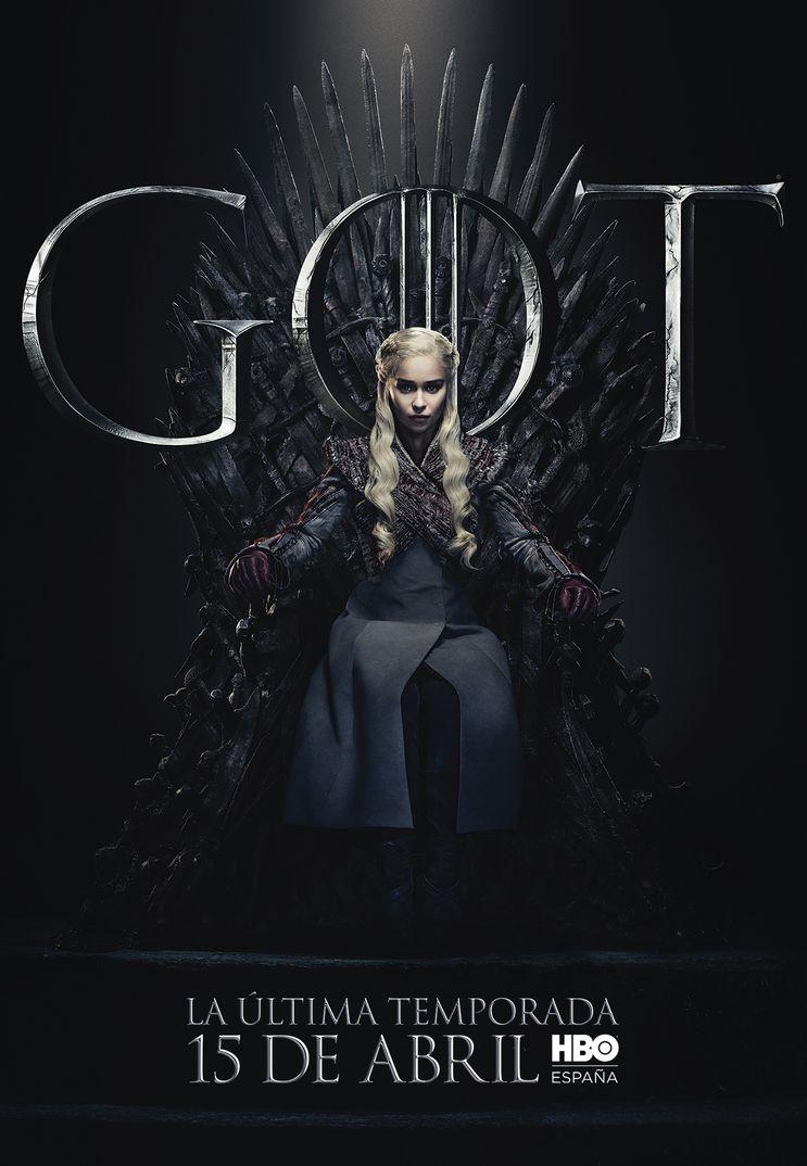 Emilia Clarke como Daenerys Targaryen - Juego de Tronos - T8 - HBO