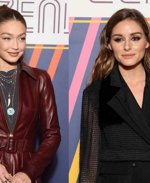 Gigi Hadid y Olivia Palermo duelo de estilo en el desfile de TommyxZendaya