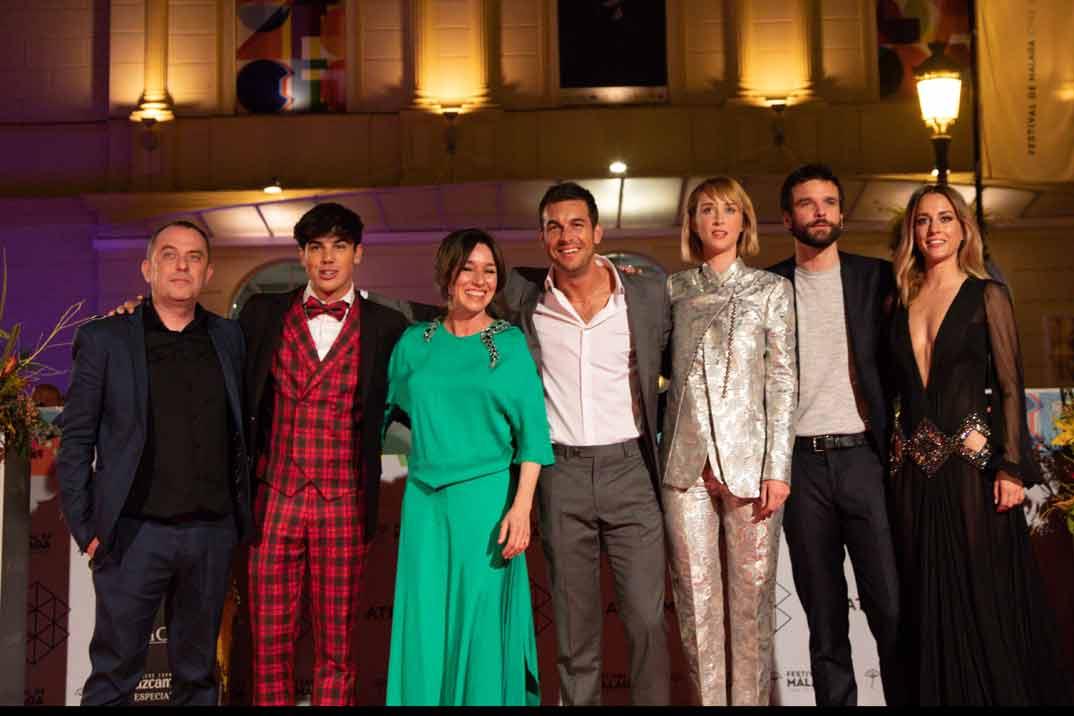 Mario Casas conquista Málaga con «Instinto»