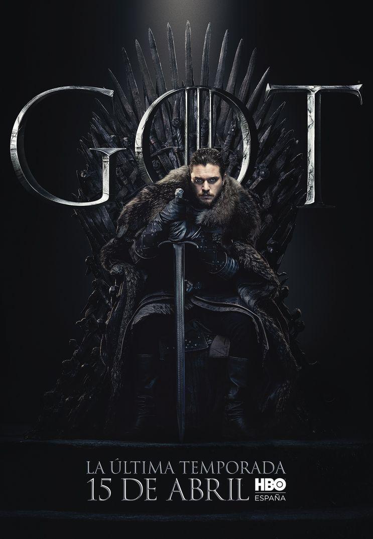 Kit Harington como Jon Nieve - Juego de Tronos - T8 - HBO