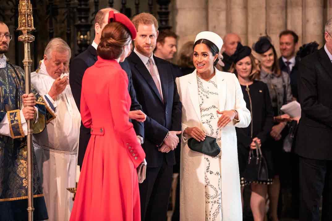 Los duques de Sussex y los duques de Cambridge