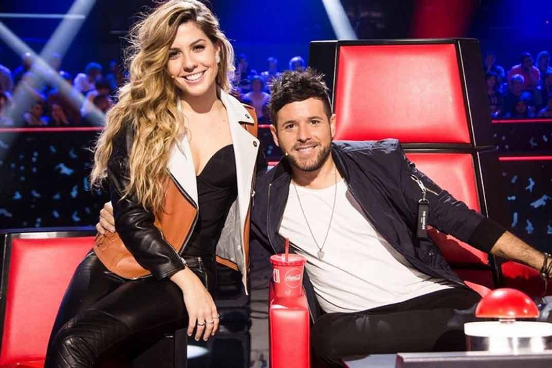Pablo López y Miriam Rodríguez soprenden cantando juntos «No!»