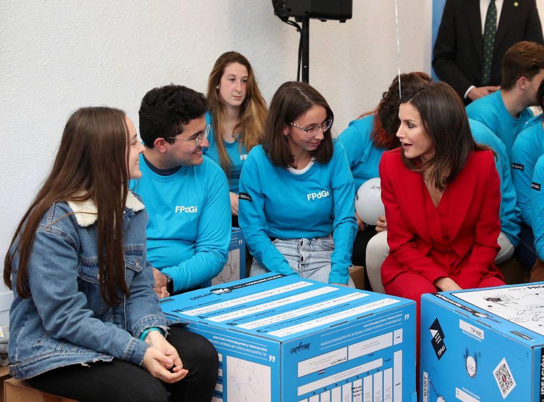 Reina Letizia - Premio Fundación Princesa de Girona 2019 © Casa S.M. El Rey