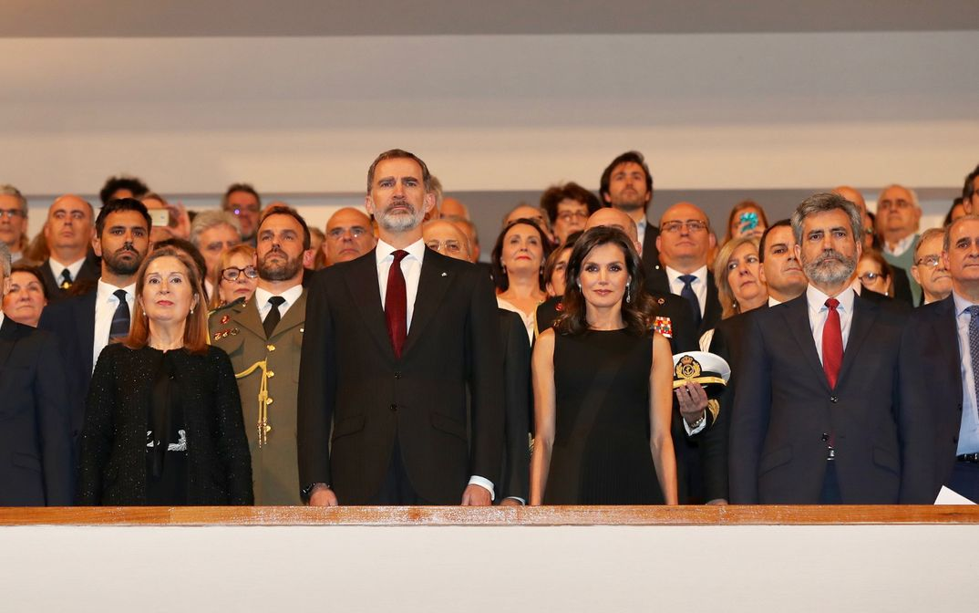 Reyes Felipe y Letizia - Concierto Víctimas del Terrorismo © Casa S.M. El Rey