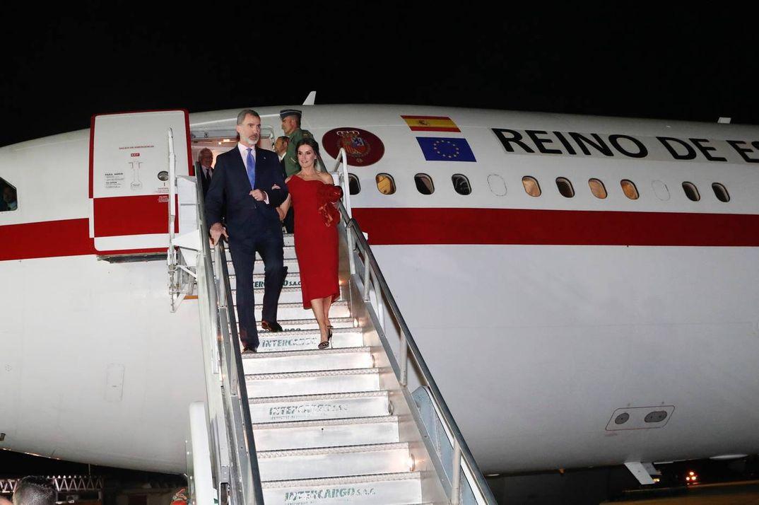 Los Reyes Felipe y Letizia llegan a Córdoba (Argentina) © Casa S.M. El Rey