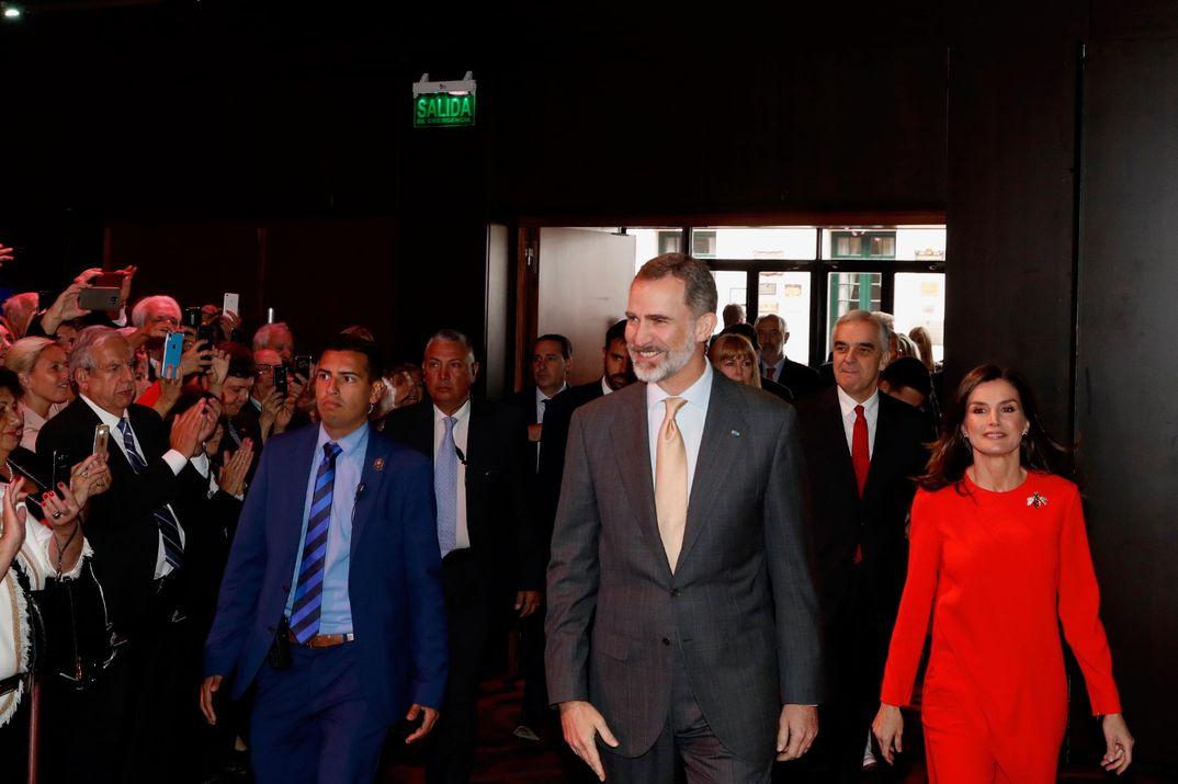 Los Reyes Felipe y Letizia con el Presidente de Argentina y su esposa - Visita Oficial Buenos Aires © Casa S.M. El Rey