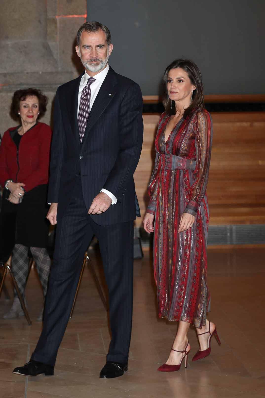 Los Reyes Felipe y Letizia - Premios Nacionales de Cultura 2017