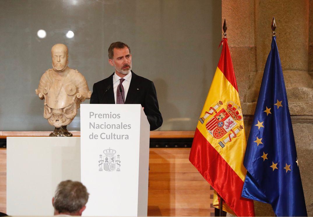 Los Reyes Felipe y Letizia - Premios Nacionales de Cultura 2017 © Casa S.M. El Rey