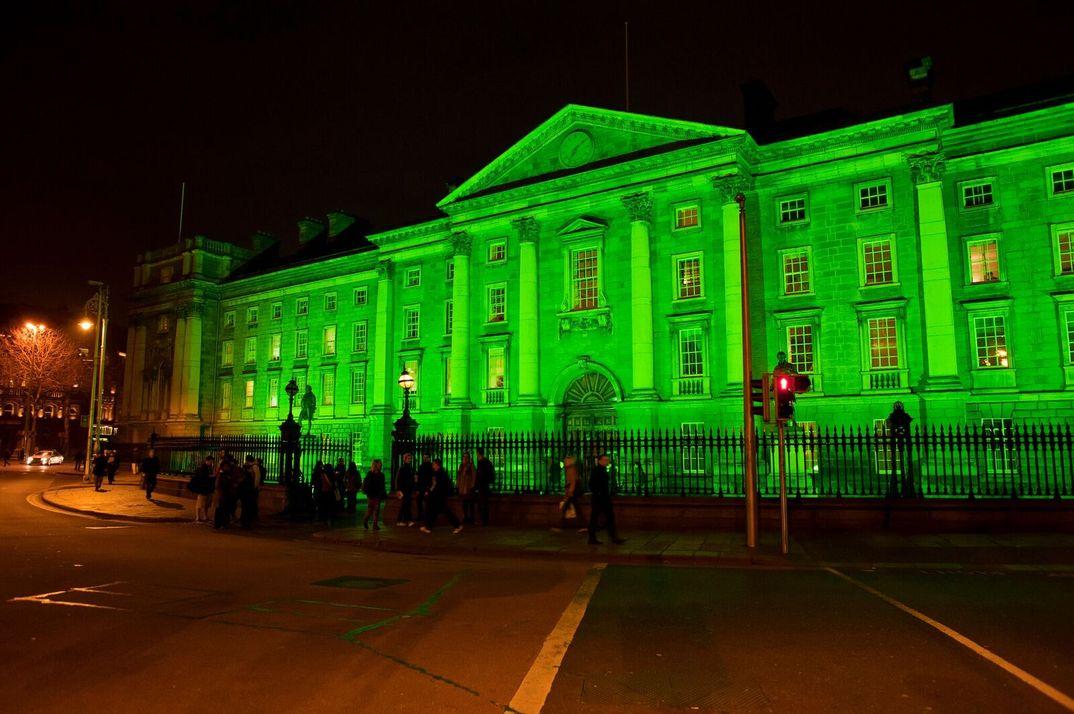 Trinity College, Dublin - San Patricio