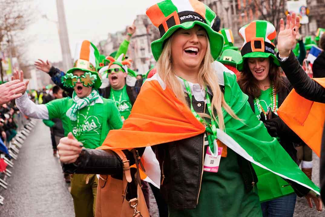 Dublín celebra su Festival de San Patricio más literario