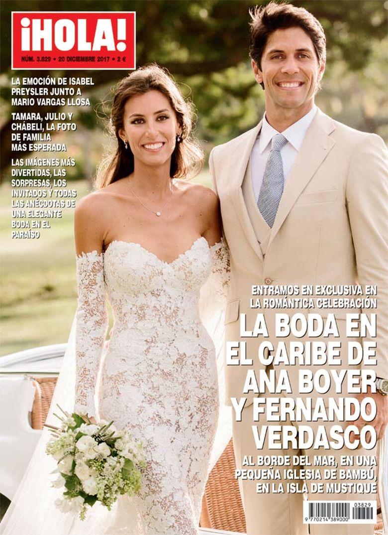 Boda Ana Boyer y Fernando Verdasco - Revista Hola - 2017