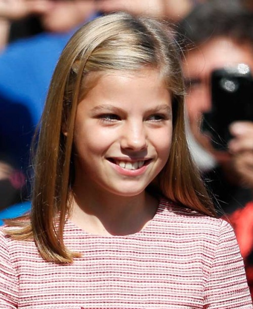 La infanta Sofía cumple 12 años… Las mejores imágenes