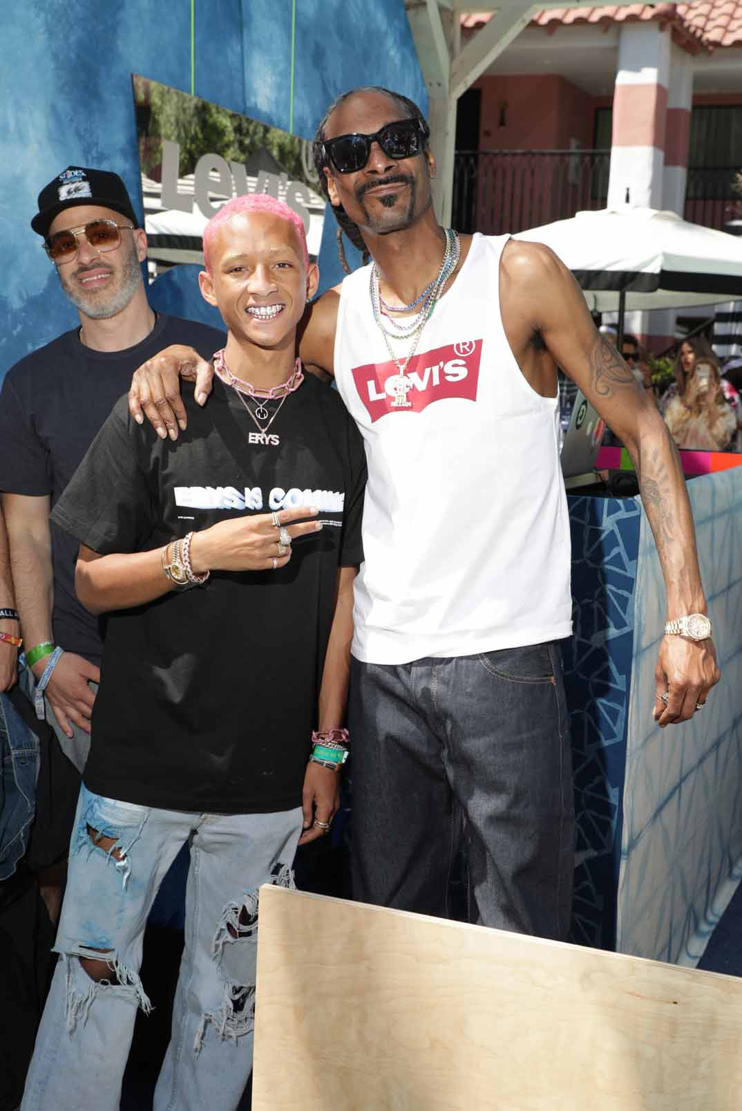 Jaden Smith, Snoop Dogg - Fiesta Levi's - Festival de Coachella