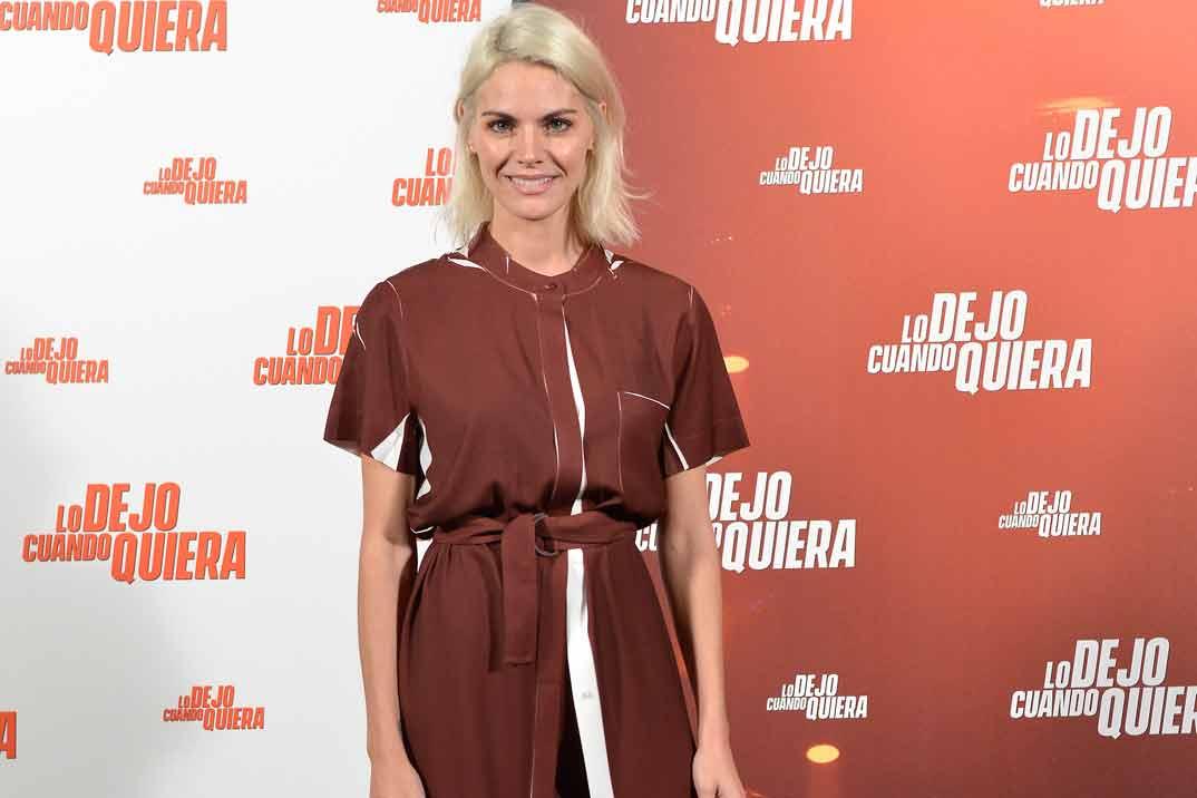 Vestido + pantalón, la última apuesta de Amaia Salamanca