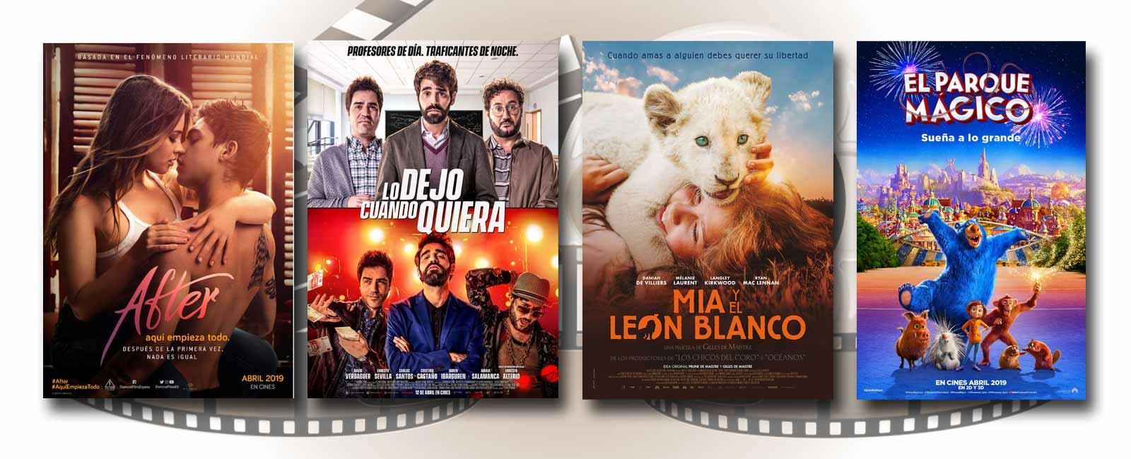 Estrenos de Cine de la Semana… 12 de Abril 2019