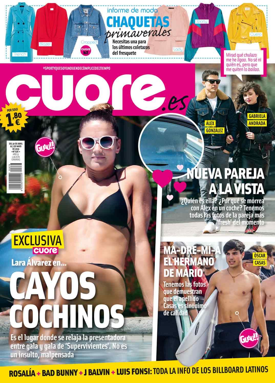 Álex González y Gabriela Andrada - Revista Cuore