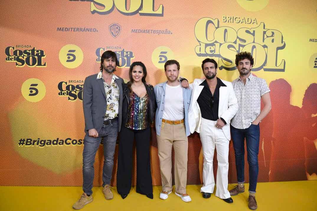 """Sara Sálamo y Hugo Silva presentan """"Brigada Costa del Sol"""""""
